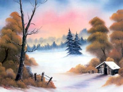 油画式极品风景壁纸(3)图片